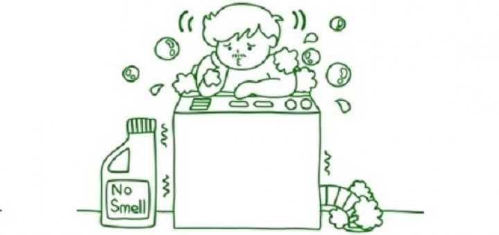 Preventing Smelly Laundry
